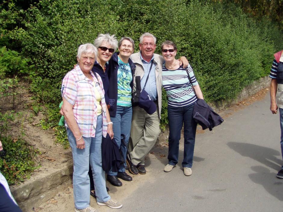 Mitglieder Ausflug 2014
