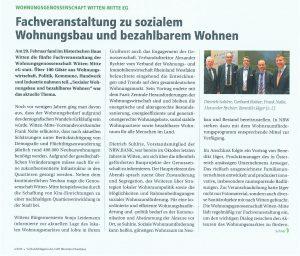 VerbandsMagazin VdW Rheinland Westfalen