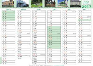 Kalender zum Ausdrucken